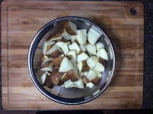 Cubed Potatoes