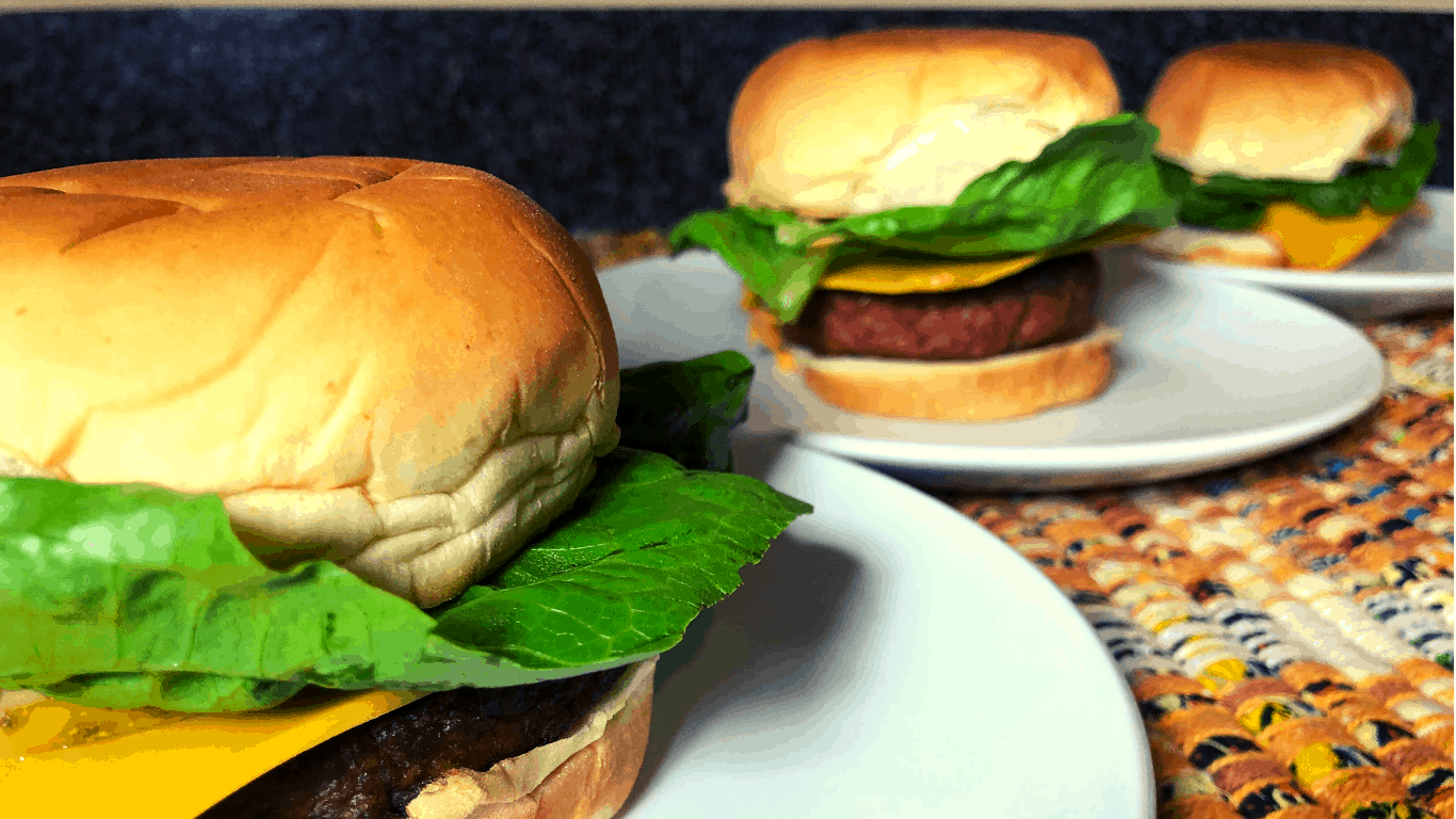 The 3 Vegan Burgers all dressed up!