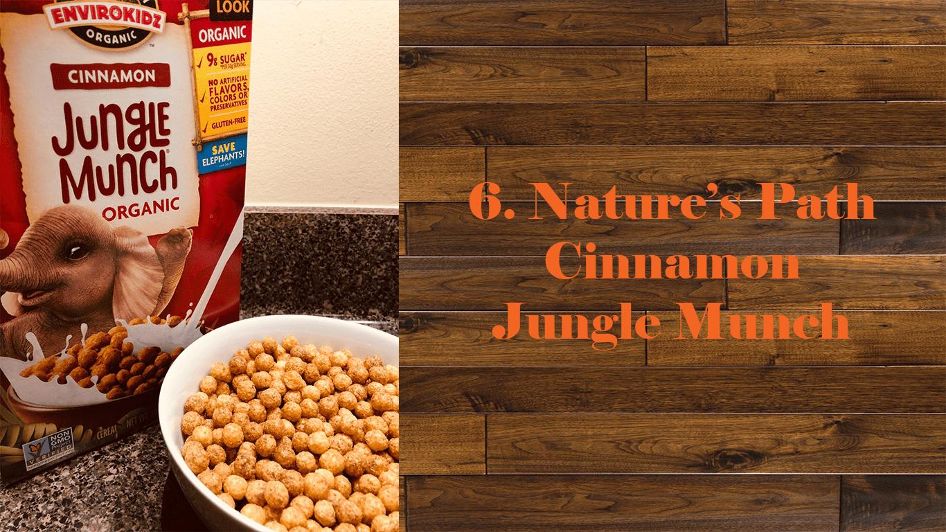 Nature's Path Cinnamon Jungle Munch