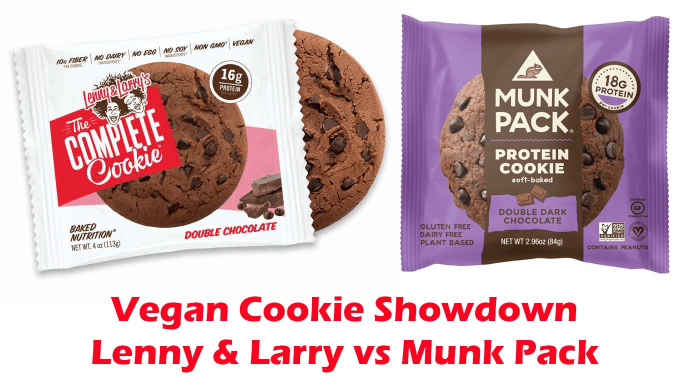 vegan protein cookie showdown