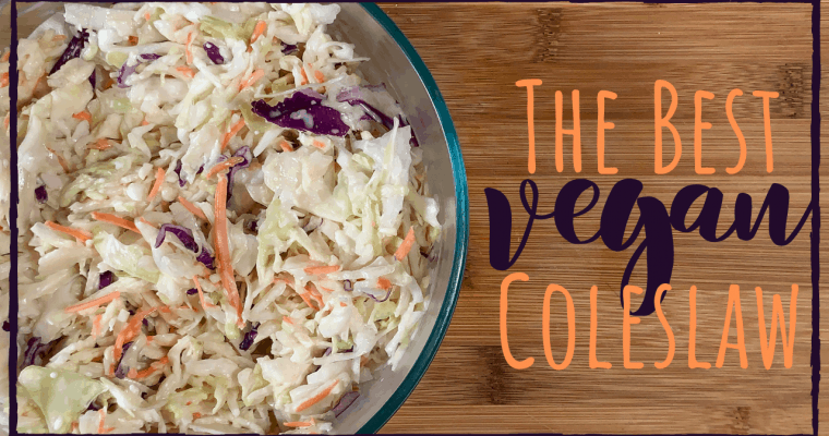 THE BEST VEGAN COLESLAW