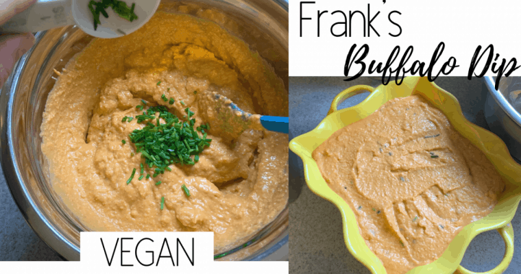 Vegan Franks Buffalo Dip