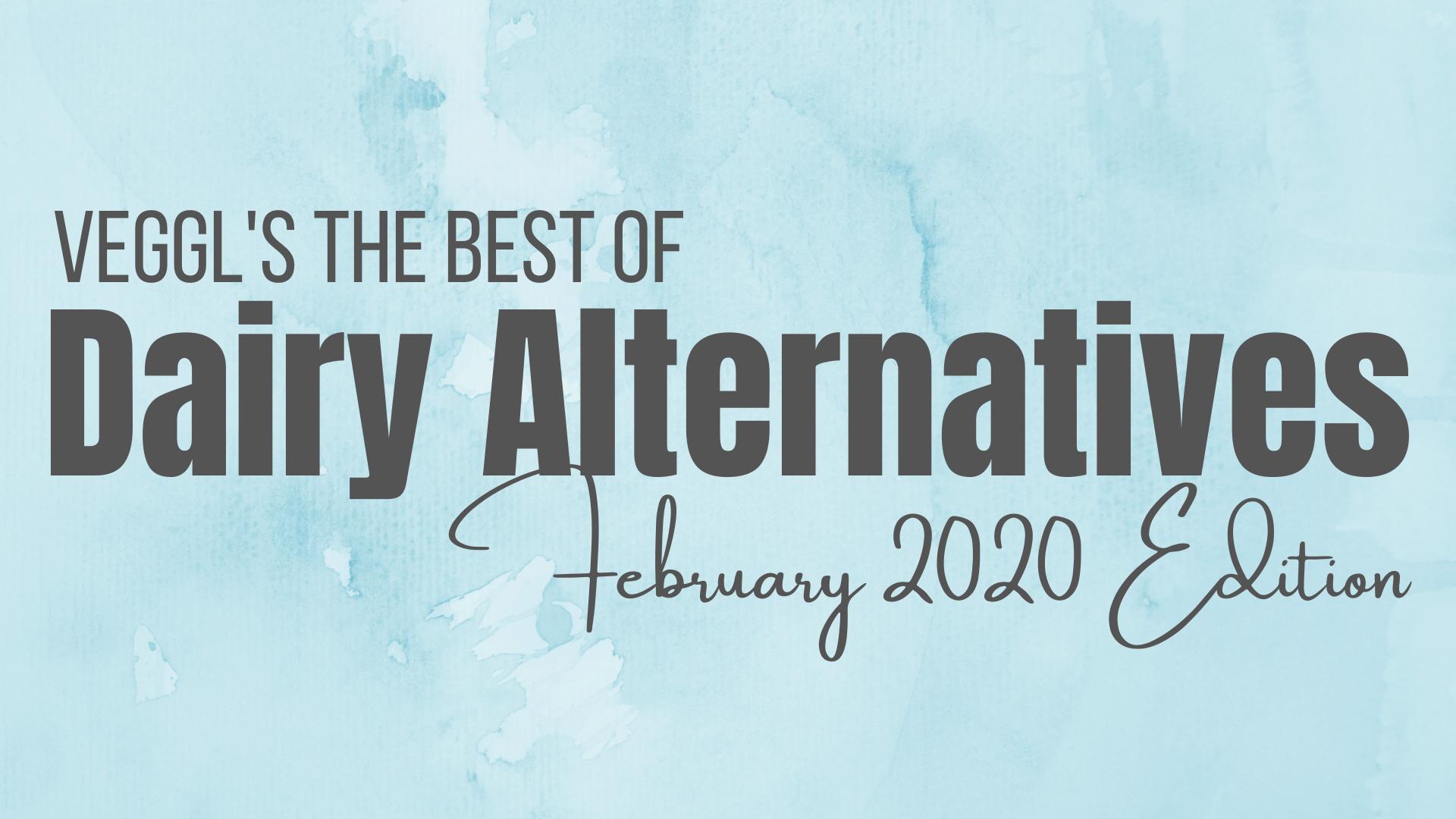 Dairy Alternatives 2020